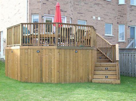 wrap around deck framing wrap around deck with a 45 corner decks fencing contractor talk