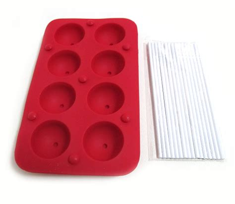 Silicone Lollipop Chocolate Mold silicone cake chocolate cookie mould lollipop baking tray