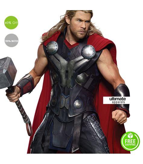 Discon Jaket Avenger Thor age of ultron thor vest costume