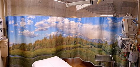 landscape curtains hospital curtains sereneview