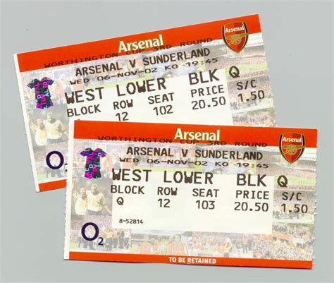 arsenal game tickets getting tickets to sold out game at a good price tickets