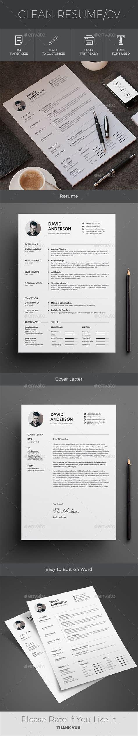 resume ai illustrator cv template and illustrators