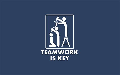 minimalistic teamwork slogan wallpapers hd desktop