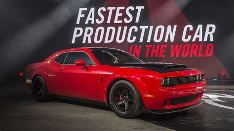 dodge challenger demon tesla model s p100dl still quicker to 60 mph than new 2018