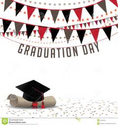 graduation day background eps 10 vector stock vector