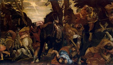 Who Was Blinded On The Road To Damascus Conversion Of Saul Paolo Veronese Hermitage Museum