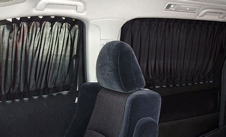 vehicle privacy curtains pair of car curtains grabone