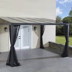 deck awnings with mosquito netting grand resort 10 x 12 hardtop gazebo with mosquito net