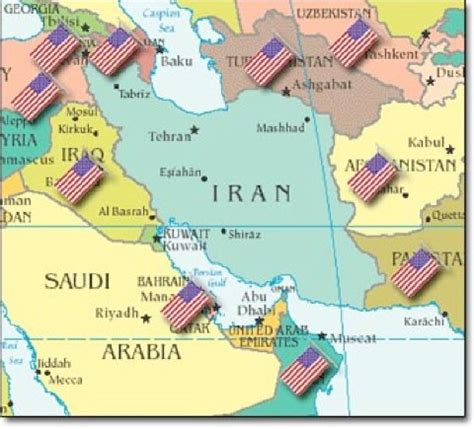 middle east map us bases golly gee how will it end