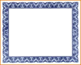 Free Certificate Border Templates by Blank Award Certificate Template Border Png Scope Of