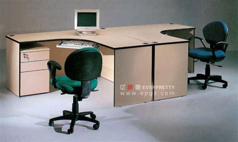 bureau cp poste de travail de personnel pour deux personnes poste
