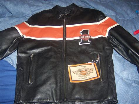 Harley Davidson Hd 6267 Leather Blbw For hd racing leather jacket size med new harley davidson forums