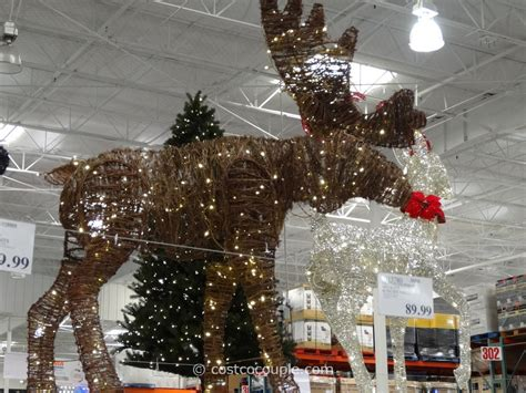costco wholesale christmas decorations philips 60 inch grapevine moose costco decorations moose