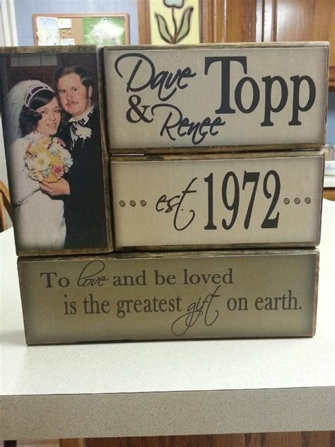 17 best ideas about 40th anniversary gifts on wedding anniversary gifts parents