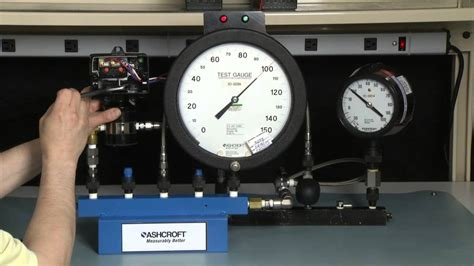 how to calibrate a pressure gauge with a pressure how to calibrate an ashcroft 174 differential pressure switch