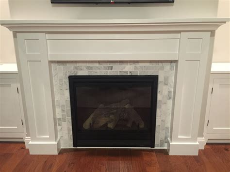 smlf how build custom white shaker style cabinets fireplace surround marble facing how to build a custom white shaker style cabinets and