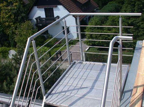 treppe edelstahlgeländer treppe und tragekonstruktion aus edelstahl