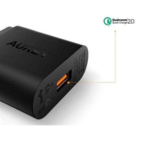 Aukey Usb Charger With Qualcomm Charge 20 Aipower aukey charger usb 1 port eu 18w with qc 2 0 aipower
