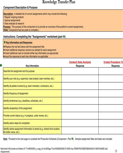 templates for knowledge transfer download knowledge transfer template for free page 15