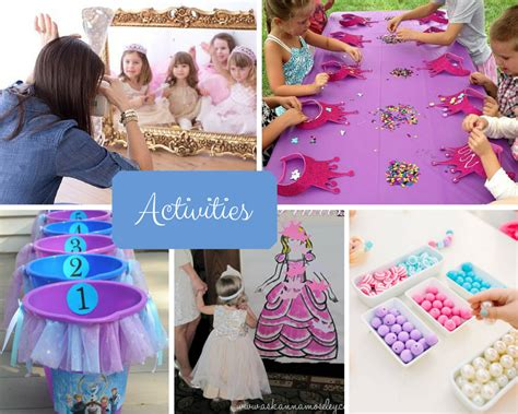 princess themed birthday games princess party ideas girls party ideas at birthday in a box