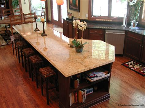 kitchen island granite countertop north american hardwoods