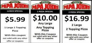 papa john s discount vouchers back to school codes papa johns coupon codes blog