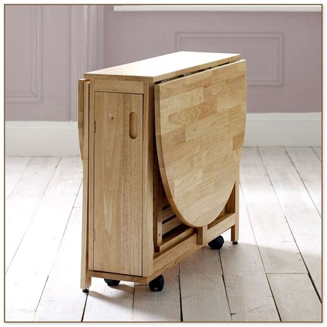 fold away end table fold away dining table