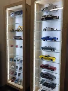scale model cars quot display cabinets with lights led dust