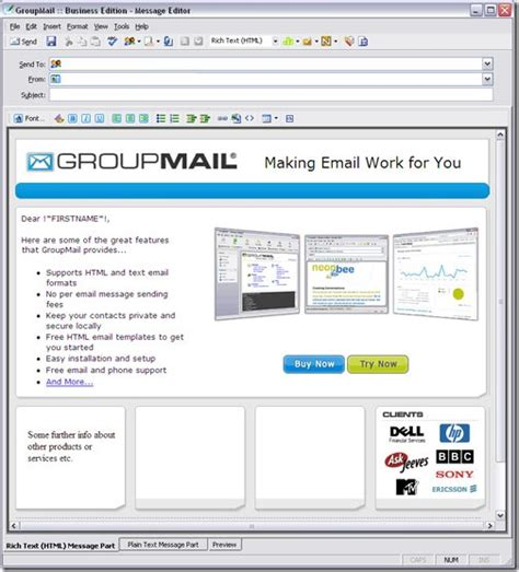 email html tips to create html email that works with all email clients