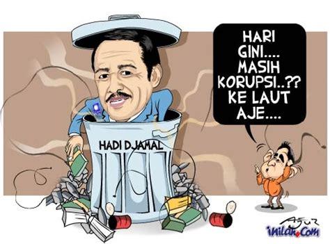 gambar kartun karikatur korupsi