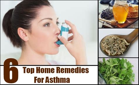 top 6 home remedies for asthma cure herbal
