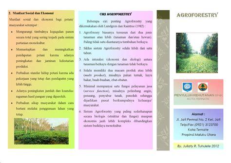 halmahera hijau leaflet agroforestry