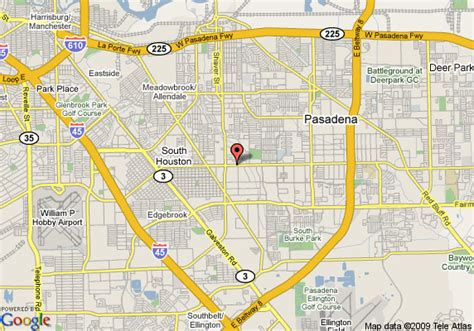pasadena texas map map of inn express pasadena pasadena