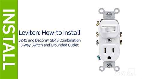 wiring a leviton combination switch wiring diagram with