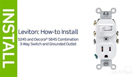 leviton presents   install  combination device