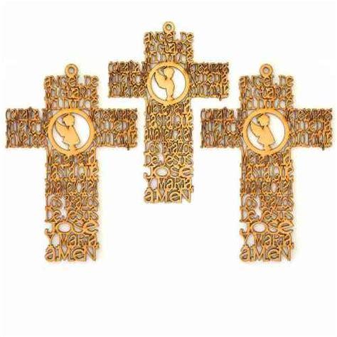 imagenes de cruces judias facebook wabe laser cruz primera comuni 243 n angel mdf