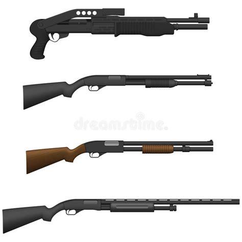 jachtgeweer vergunning jachtgeweer vector illustratie illustratie bestaande uit
