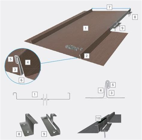 Zinc Tray Roofing - roof seams elzinc 174 standing seam roofing tray nominal
