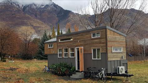 family  fours double loft tiny home  wheels