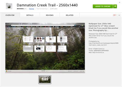 theme google chrome winner damnation creek trail google chrome theme rebrand designs