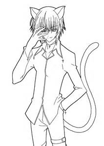 anime and boy coloring pages free anime coloring pages clannad colouring pages 424260