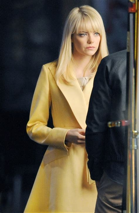 emma stone quits spiderman 25 best images about emma stone as gwen stacy on