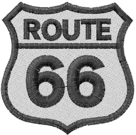 Embroidery Design Route 66 | lyns emb embroidery design route 66 2 17 inches h x 2 20