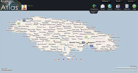 jamaica map with cities interesting and blogs entry 4 jamaipanese