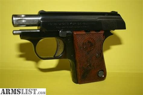 Astrea Cub armslist for sale astra cub 22 pocket size handgun