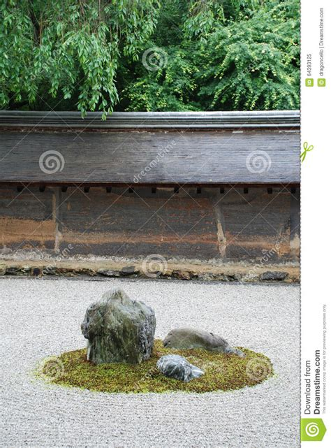 Ryoanji Rock Garden Ryoanji Zen Buddhist Temple Rock Garden In Kyoto Stock Photo Model 67 Chsbahrain