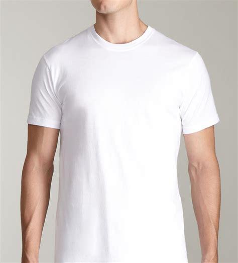 White Tshirt Kaos White Branded Tshirt 2 pack s 100 cotton supersoft crew neck white t shirt