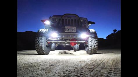 jeep jk rock lights how to install lighting systems led rock lights on
