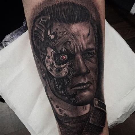 biomechanical tattoo terminator terminator biomechanical arm tattoo www pixshark com