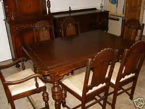 Antique Furniture Dining Room Set Beautiful Antique Oak Dining Room Furniture Set